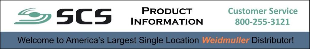 Weidmuller Distributor – Buy at SCS WebStore | Weidmuller